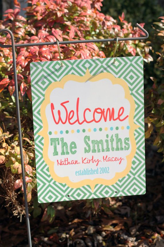 Personalized Metal Garden Flag Design Your Own Flag