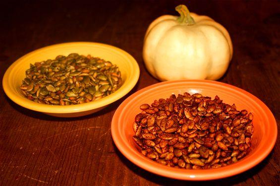 Roasted Pumpkin Seeds (Pepitas) | Recipe