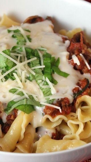 Deconstructed Lasagna   Food   Pinterest