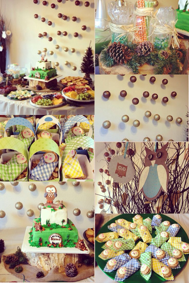woodland animal baby shower it was so much fun decorating for this