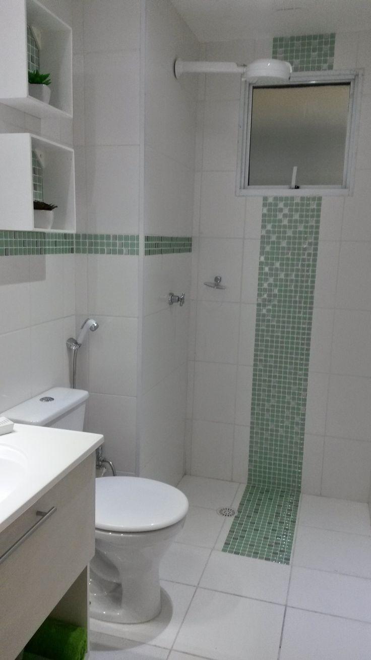 1000+ ideas about Pastilhas Adesivas Para Banheiro on Pinterest  Adesivo Par -> Banheiro Com Pastilha Resinada Adesiva