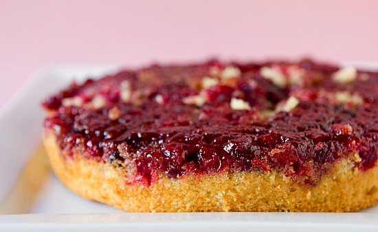 cranberry upside down cake | CULINARY DELIGHTS | Pinterest