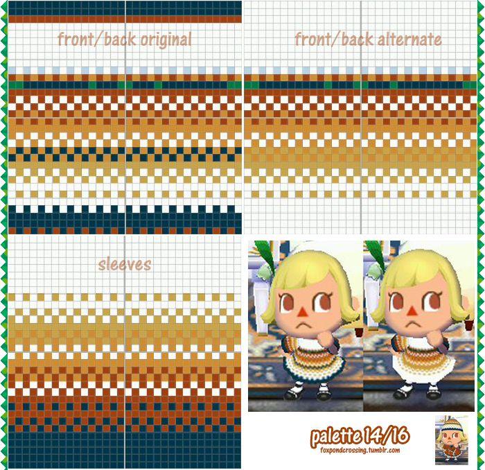 Pin By Christy Beem On Animal Crossing City Folk Patterns  Pinterest
