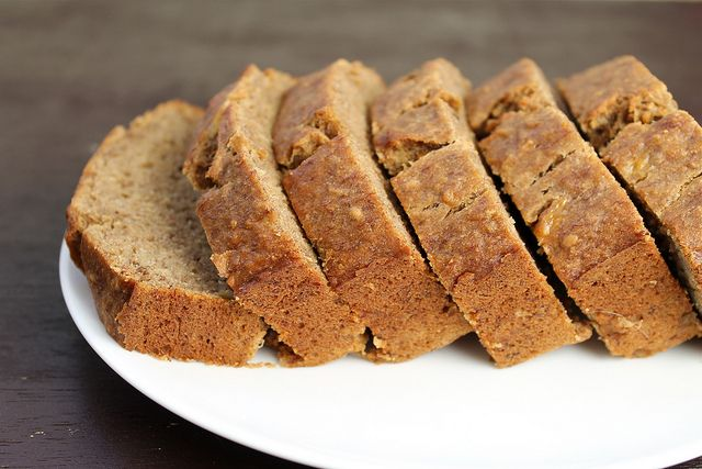 Bourbon Banana Bread - vegan | *** Vegan Bread *** | Pinterest