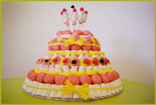 Pin haribo chocolate cake ideas and designs for Decorazioni torte ninjago
