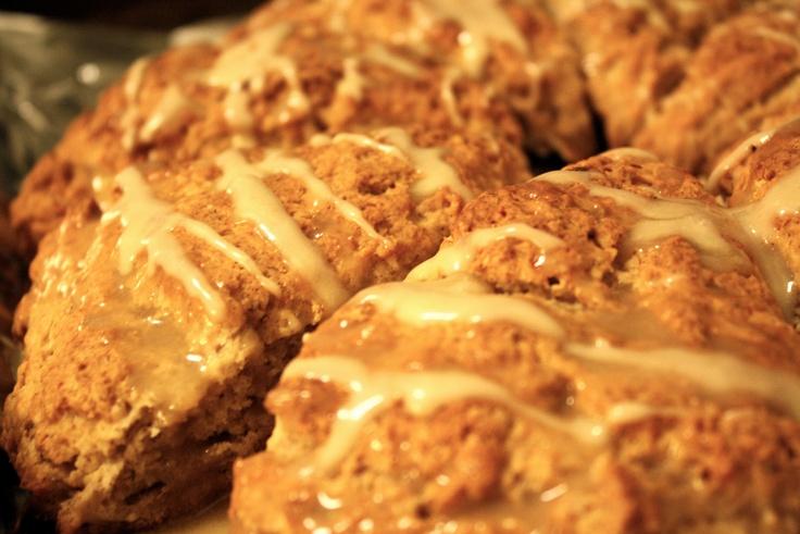 Banana Bread Scones - yum | Recipes | Pinterest