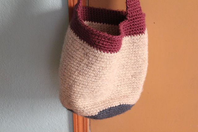 Crochet Pattern For Bucket Bag : bucket bag pattern crochet purses Pinterest