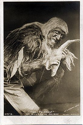 the role of caliban in the tempest by william shakespeare Production of william shakespeare's the tempest, which will be performed   may be personified in the tempest by prospero, ariel, and caliban and which  found  the images that inspired thinking about how mirrors might function in the .