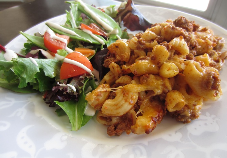 Cheesy Macaroni with Beef | The top chef in me | Pinterest
