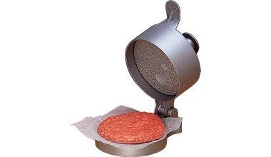 Details about Hamburger Press Beef Burger Patty Maker Single Double ...