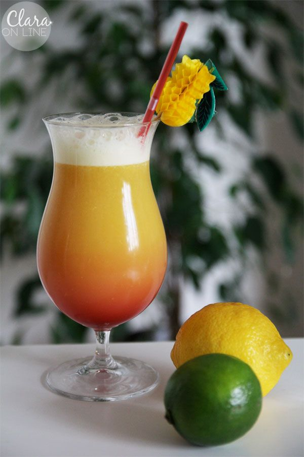 Planters Punch Cocktail | The rum diary | Pinterest