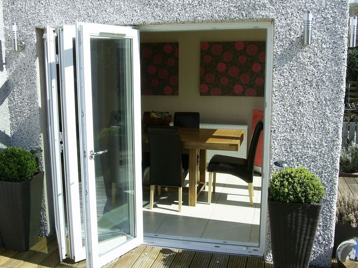 Pin by darron cooke on bifold doors pinterest for Front and back doors