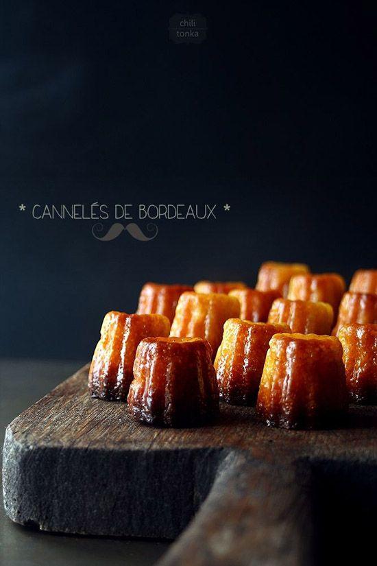Cannelés de Bordeaux (France).   Sucré / Sweet food   Pinterest