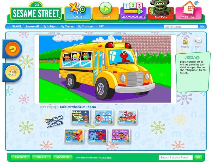 sesame street | Learning Activities for the boys | Pinterest