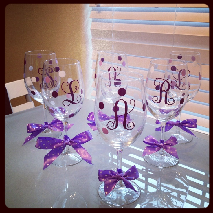 Wedding Gift Ideas Easy : Easy do it yourself gift! And in any color to mach your wedding!