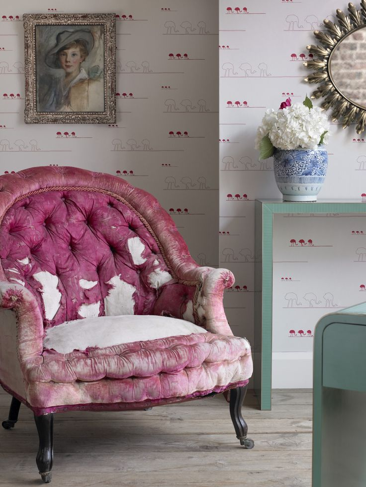I love this shabby old chair