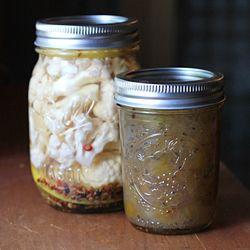 Canning and Preserving: Lemony Pickled Cauliflower and Gooseberry Jam