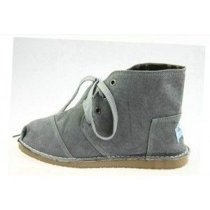 Toms Grey Suede Womens Tomboy Boots In Toms Outlet Storetoms