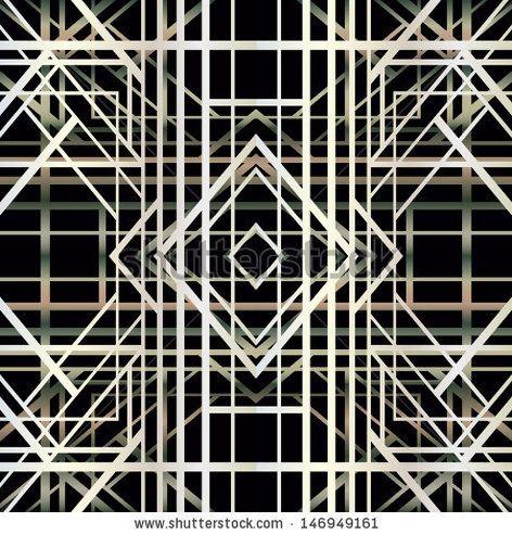 art deco geometric pattern | home decorations | Pinterest