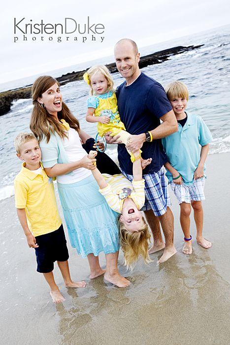 family portrait style