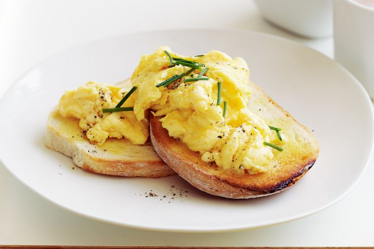 Another breakfast dish...Perfect scrambled eggs #basic #breakfast http ...
