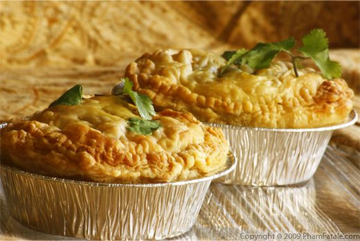Vegetarian Indian Curry Tofu Pot Pie | Food: Vegan/Vegetarian | Pinte ...