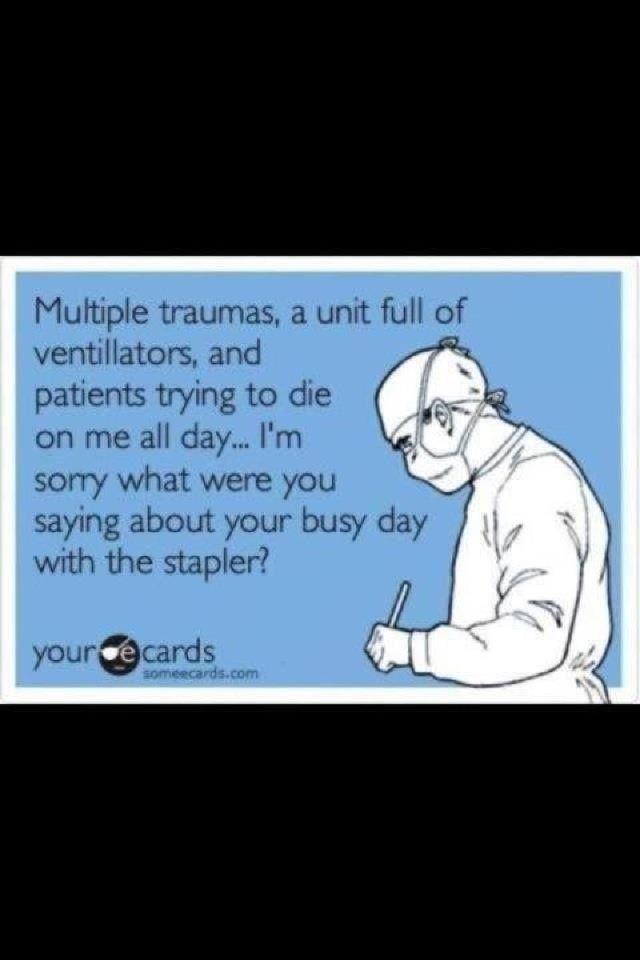 operating room humor