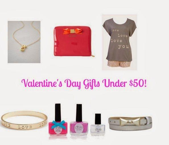 valentine gifts under 50