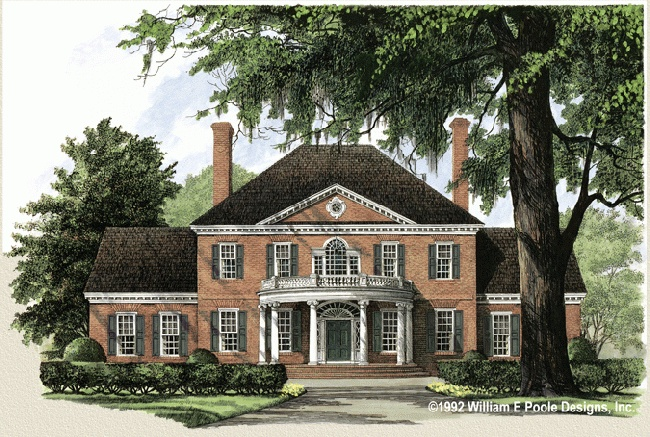 William e poole designs ashley house plans pinterest for William poole homes