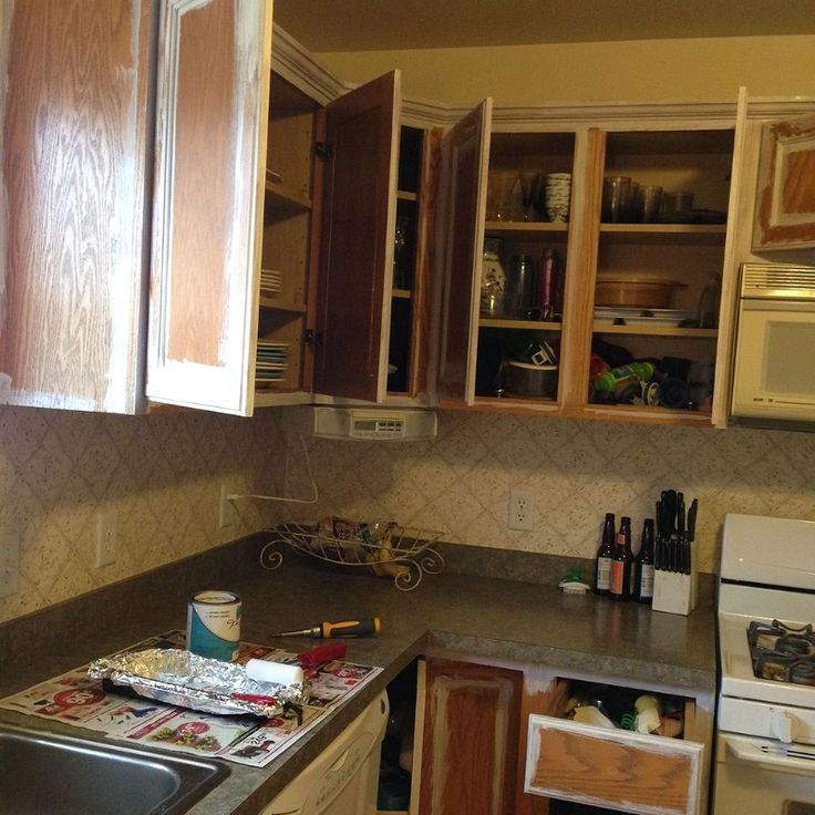 Paint Your Kitchen Cabinets Easily