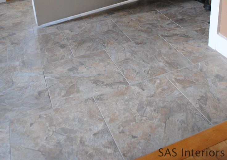 How To Install Groutable Vinyl Floor Tile Projects To Do Pinterest