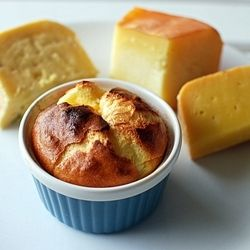 Three Cheese Souffle | I will be making this...someday | Pinterest