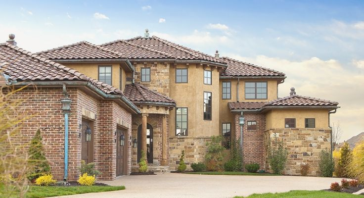 Tuscan roof tile exterior ideas pinterest for Tuscan roof design