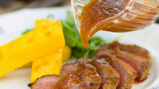 Moorish lamb with quince glaze recipe | Food To Cook | Pinterest