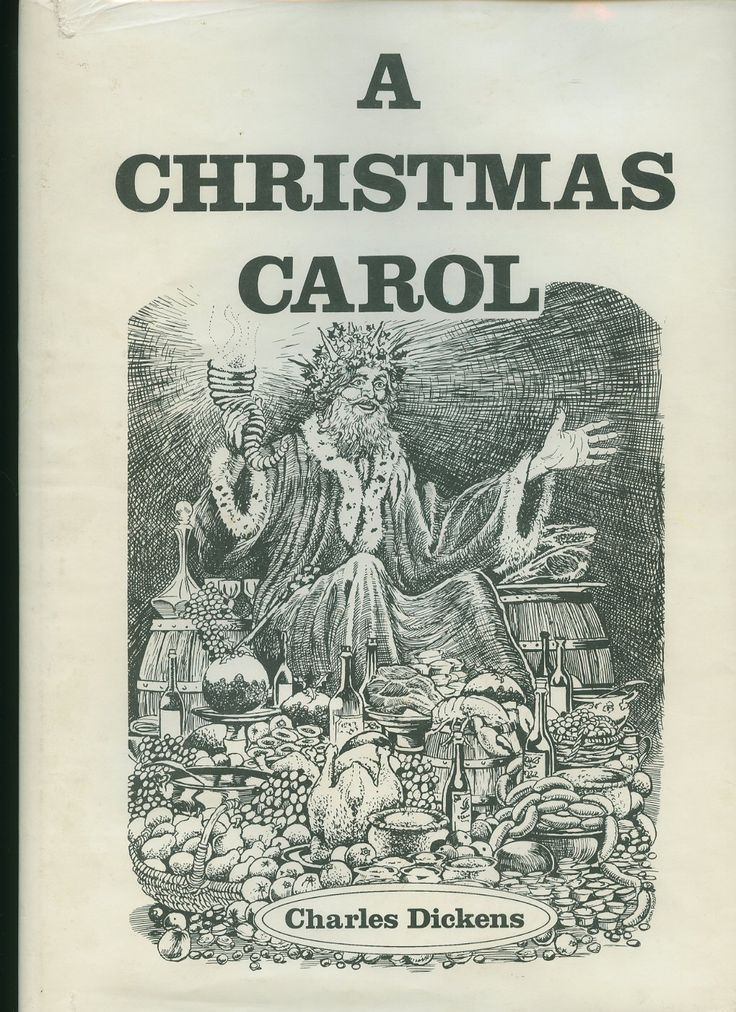 A Christmas Carol book cover ... | My Library | Pinterest