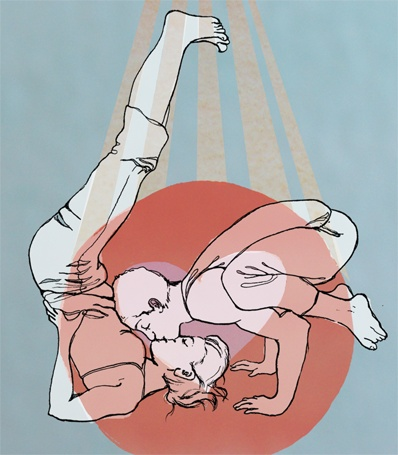 valentine's day yoga workshop