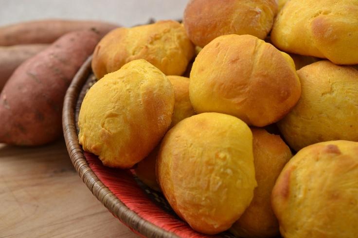 What is not to love? Sweet Potato Buns via @JollyTomato
