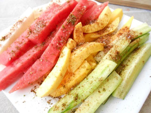 Chile Lime Fruit Platter | flora foodie | healthy crap | Pinterest