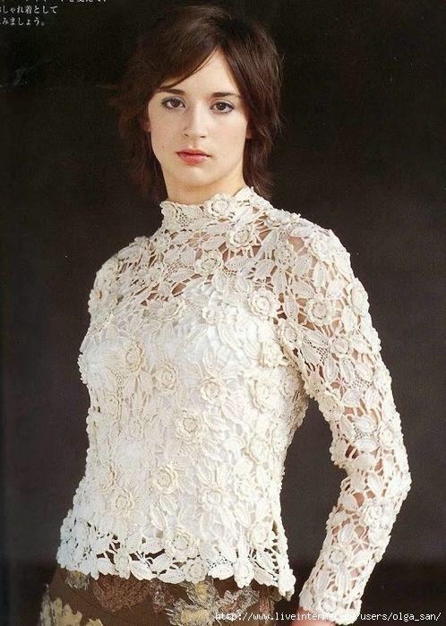 Juliette Crochet Blouse 36