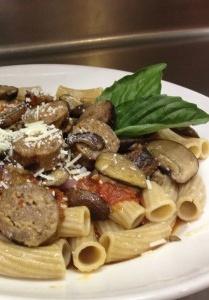 Italian Sausage Tomato Basil Rigatoni Recipe