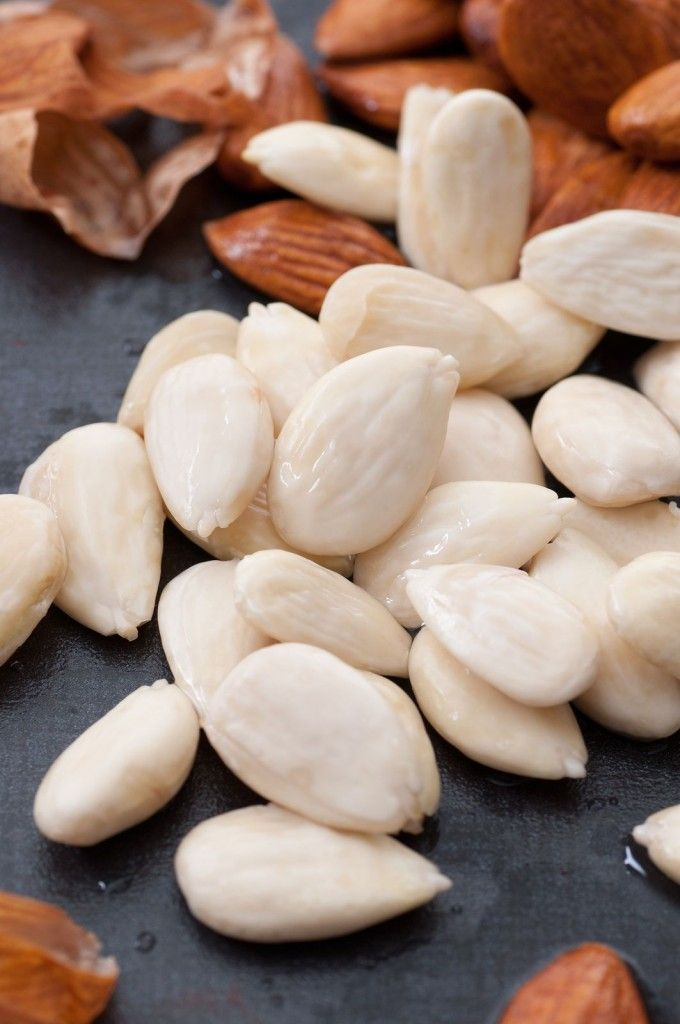 How To Blanch Almonds | Food tips | Pinterest