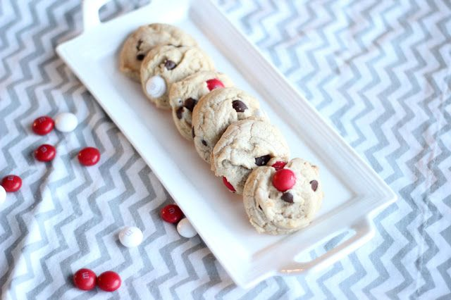 ... dish chocolate chip cookies with white chocolate peppermint m amp m s