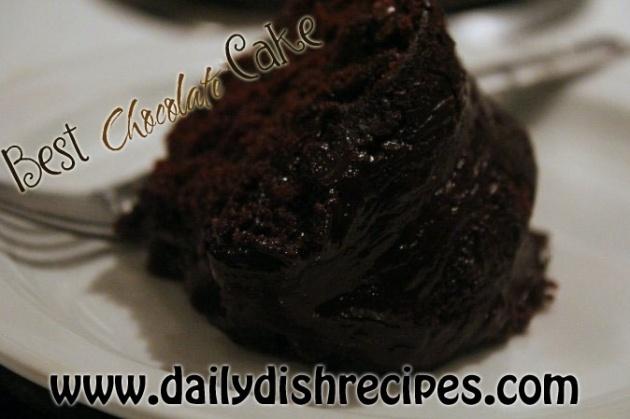 Chocolate Sour Cream Bundt Cake | Recipe
