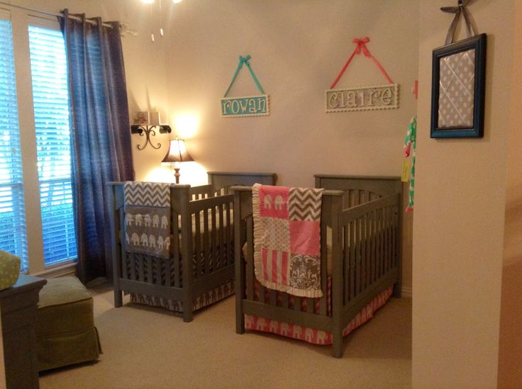 Phase One Of Our Boy Girl Twins 39 Nursery Is Complete