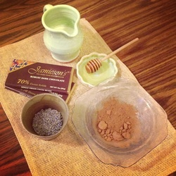 Dark Chocolate Lavender Truffles | Lavanda | Pinterest