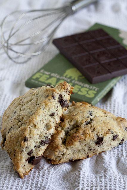 Chocolate-Coconut Scones by protogarrett, via Flickr Anyone who makes ...