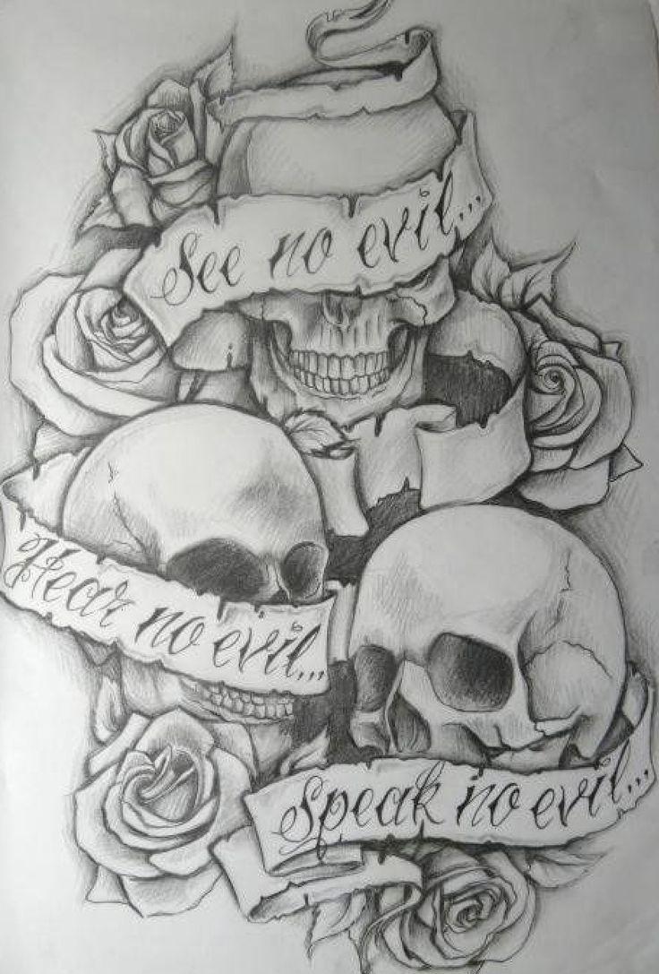Love Hurt Tattoos Skull Tattoo Idea Love
