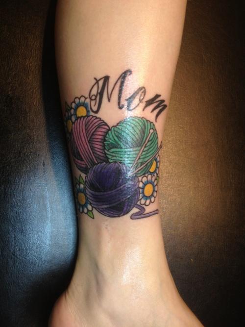 Crocheting Tattoos : crochet tattoo Crafty Tattoos Pinterest