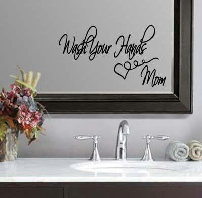Excellent Bathroom Removeable Selfadhesive Mirror Wall Stickers Home Decor