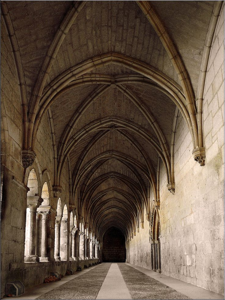 gothic architecture. ribbed vault. | Roads | Pinterest